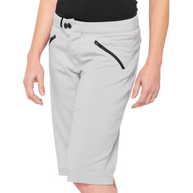 100% Ridecamp Pantaloncini Donna, grigio